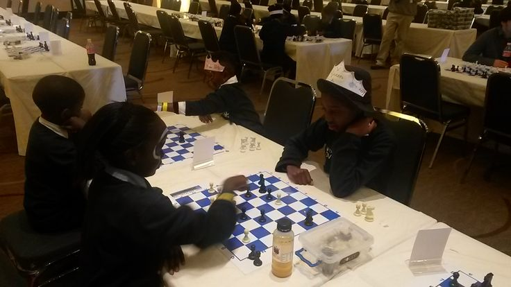 A Day to Remember – TSMFL Development Chess Tournament What are the makings of a day to remember? A picture-perfect sunny day, gorgeous smiles or exciting chess games? Arriving at 10:30am, 48 children from Diepsloot were treated to a breakfast by Tsogo Sun Montecasino, preparing them to a day filled with fun, learning, creative activities and above all, CHESS!