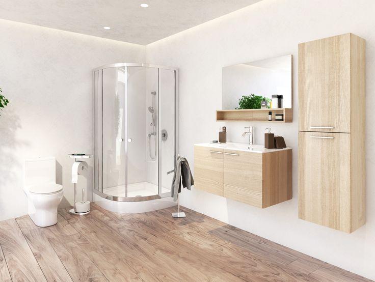 28 best nos r alisations images on pinterest bathroom sets contemporary design and bathroom. Black Bedroom Furniture Sets. Home Design Ideas