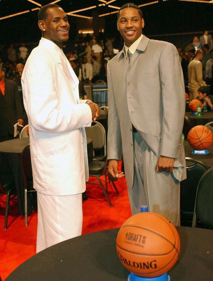 &Lebron James in 2003