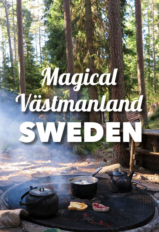 Incredible nature adventure in the lush region of Västmanland, near Stockholm…