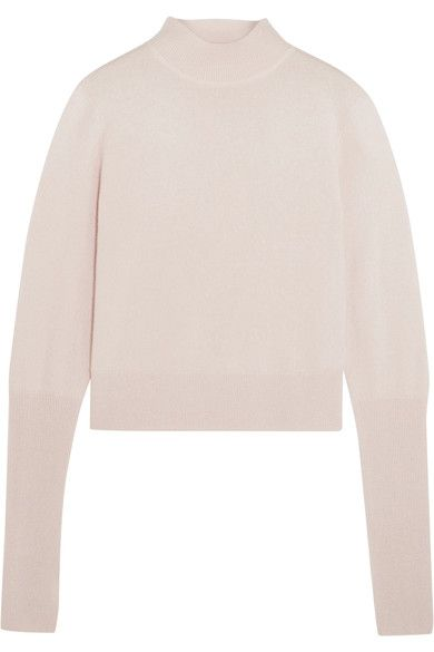 Dion Lee - Cutout Cashmere Turtleneck Sweater - Pastel pink - UK