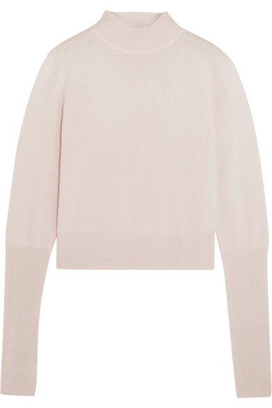 Dion Lee - Cutout Cashmere Turtleneck Sweater - Pastel pink - UK