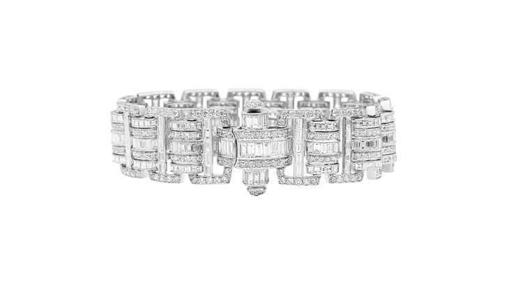 Jan Logan Bespoke Diamond Bracelet