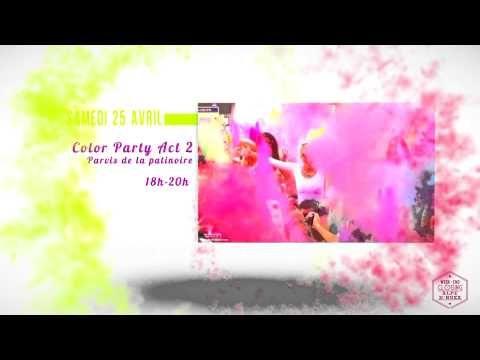 Alpe d'Huez - CLOSING 2015 - HOLI PARTY - YouTube