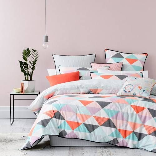 Home Republic Flagstaff Quilt Cover Sets Pastel, quilt covers sets, doona covers