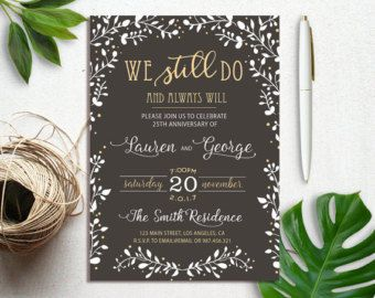 the 25 best vow renewal invitations ideas on pinterest vowel renewal ideas wedding renewal invitations and vow renewal ceremony - Wedding Renewal Invitations