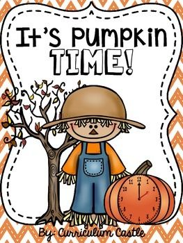 This pumpkin themed time center has been designed to make telling time to the hour fun and interactive for your students! This center includes puzzle pieces from 1 o'clock - 12 o'clock in digital and analog format. We have also included an assessment page ...
