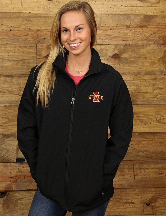 Gear up for the cooler weather with this zip up I State jacket Its perfect for all the chilly games GO CYCLONES