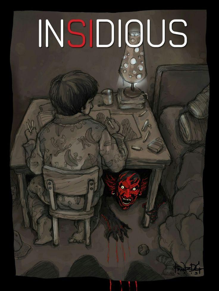 Insidius Horror Movie Poster