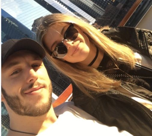 Jordan Caron is a professional NHL player for the St. Louis Blues, he is also the boyfriend of sexy Canadian tennis player Eugenie Bouchard.