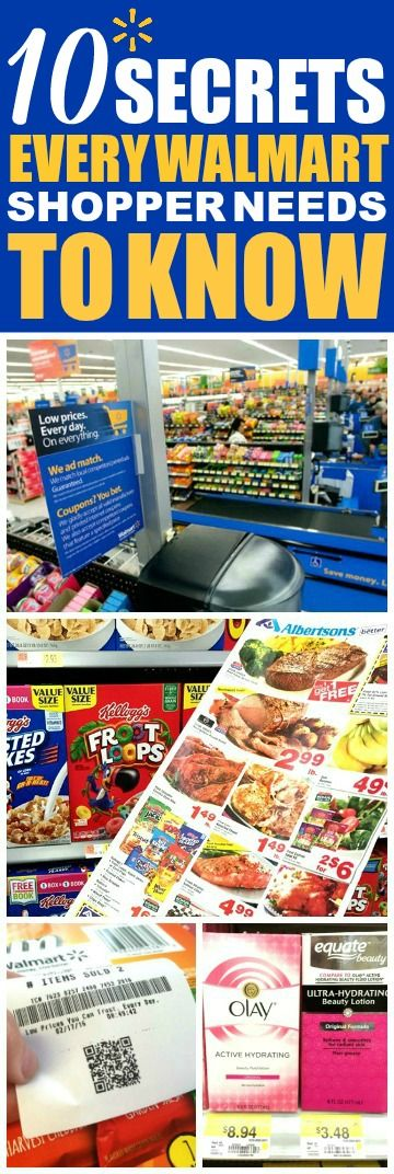 These 10 money saving walmart tips are THE BEST! I'm so glad I found these GREAT tips! Now I have some great ways to save money at Walmart and save money on groceries! Definitely pinning!