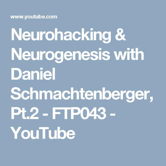 Neurohacking & Neurogenesis with Daniel Schmachtenberger, Pt.2 - FTP043 - YouTube