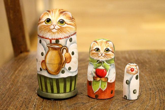 注目を浴びている「マトリョーシカ」 今買うなら、かわいいネコちゃんマトリョーシカだ!   阪急阪神百貨店・ライフスタイルニュース
