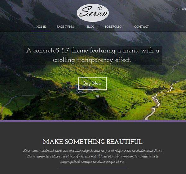 Seren - concrete5