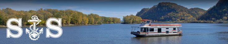 S Houseboat rentals, Lansing, Iowa