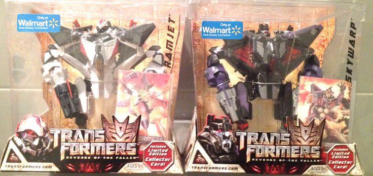 Transformers 2 ROTF Voyager Class Figure Skywarp & Ramjet Walmart Exclusive MISB #Hasbro