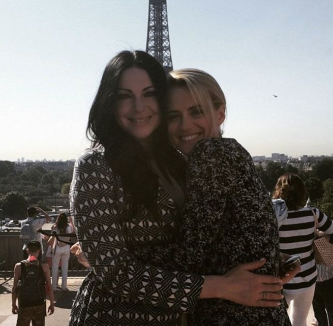 Laura Prepon and Taylor Schilling are some of the best huggers out there. All of the Orange Is the New Black cast members are consummate huggers.