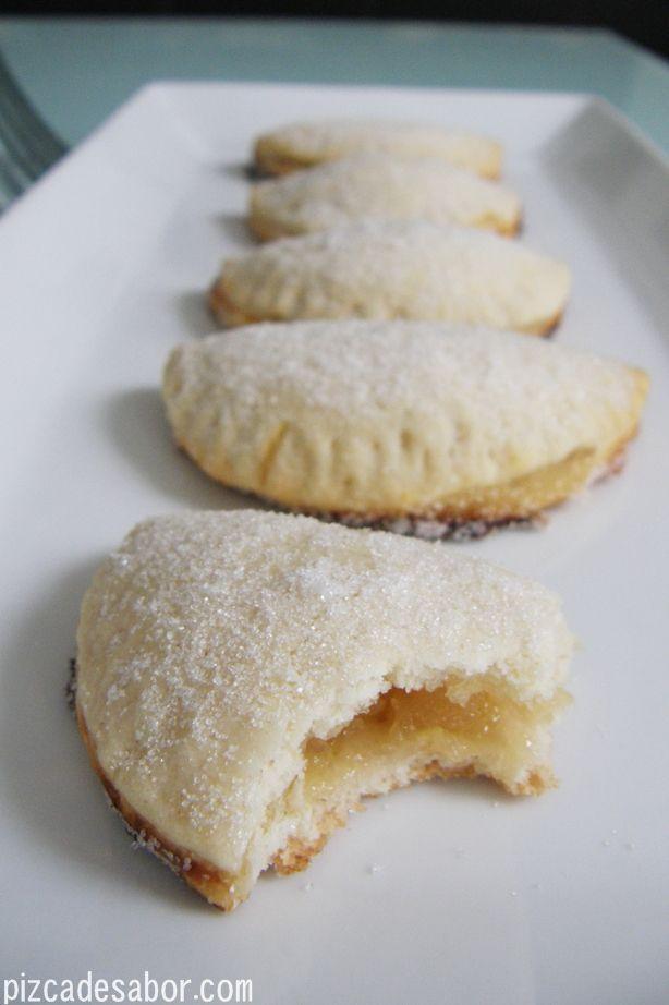 Empanadas de piña {reto dulce}