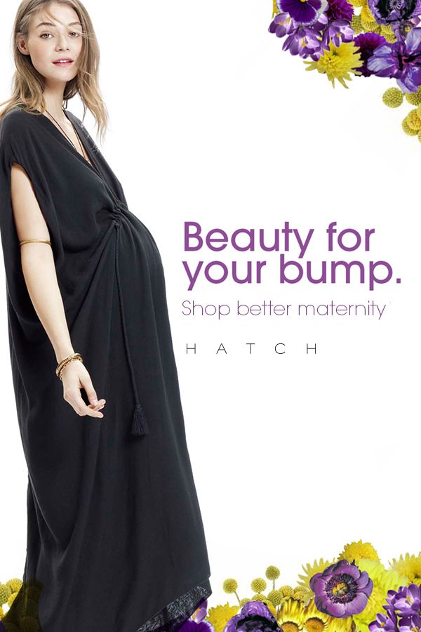HATCH offers chic clothes and products for before, during and after the bump. Our end-of-season sale just 40%.