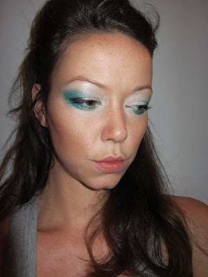 A Quadrillion and One New Outfits: Ocean Goddess Makeup