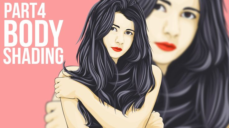 4/5 Vector Portraits Photoshop Tutorial Body Shading  Part 4. Adobe Photoshop CC 2015.5 Vector Portraits Tutorial. This video show you the process on how i create vector vexel (PRO). i'am not explain in deep, if you begginer or intermediate you can check my other video in my channel.