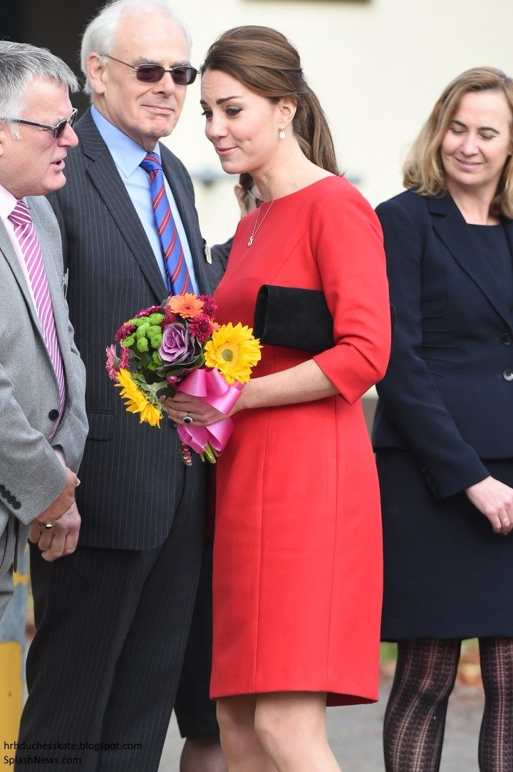 Catherine, Duchess of Cambridge visits an EACH (East Anglia Children's Hospice) Appeal Launch Event at Norfolk Showground on November 25, 2014 in Norwich, England.