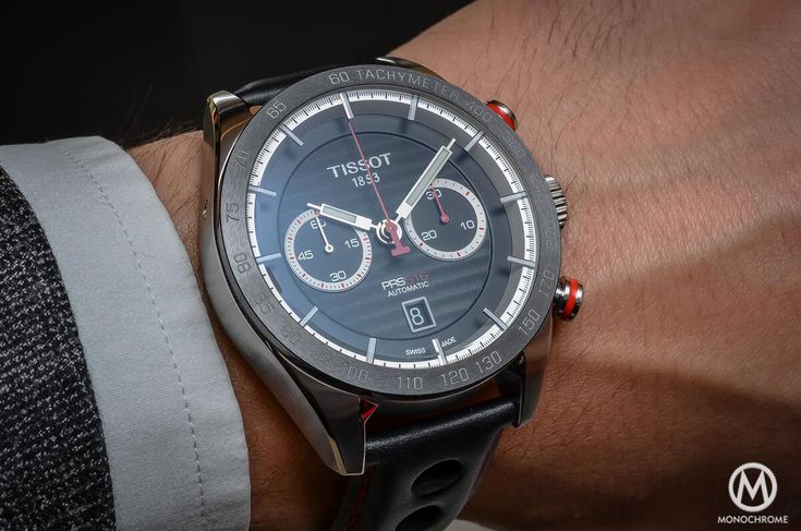 Affordable Proposition - Hands-on Review of the new Tissot PRS 516 Automatic Chronograph (live pics & price) - Monochrome-Watches