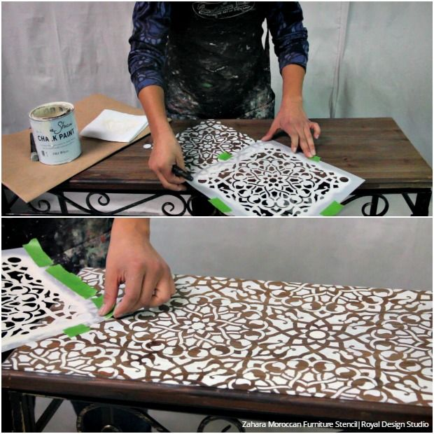 best Stenciled and Painted Furniture  on Pinterest