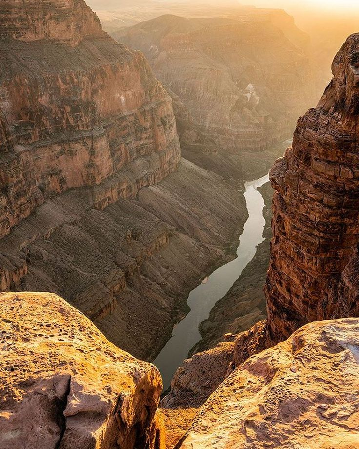 Photo @materas // Sunset over  The Colorado River as it carves deeper and deeper through some of the oldest rock on the planet. With five million visitors each year, solitude can be hard to find in the Grand Canyon. But if you visit in the off season or explore the North Rim, solitude can be still found. Last week we explored some remote spots on the North Rim and didn't see anyone except a friendly park ranger. It's best to check with the park service before visiting in the winter to see…