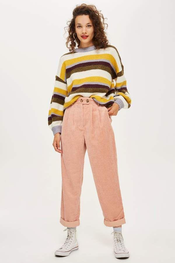 Corduroy Peg Trousers