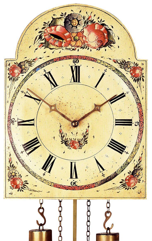 Reloj de cuco con fachada pintada movimiento mecánico de 8 días 26cm de Rombach & Haas
