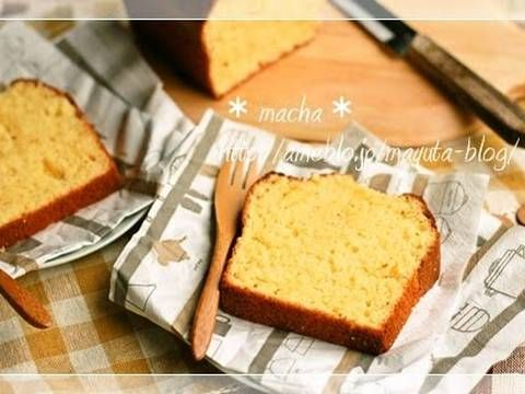 Great recipe for Easily Made with Pancake Mix! Cream Cheese Pound Cake. I wanted to quickly make a snack for my kids using pancake mix before they came home.  I forgot to take a picture, but after pouring the batter into the pan, make an indentation down the middle. This way, it will rise cleanly as it bakes. Recipe by macha_
