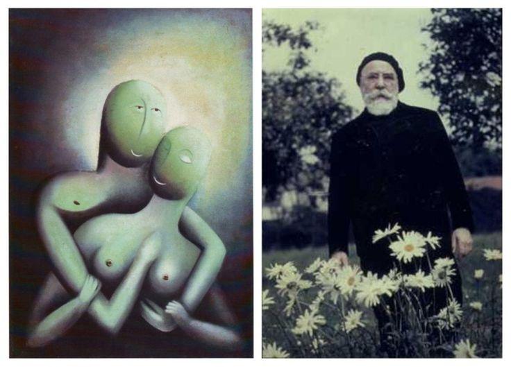 Milenci (Posedlost) 1914. A mistr Jan Zrzavý