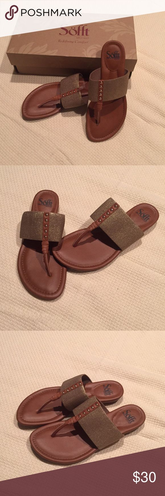 Selling this NWT Sofft shoe sandal on Poshmark! My username is: lesliemg. #shopmycloset #poshmark #fashion #shopping #style #forsale #Sofft #Shoes