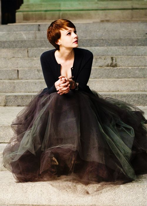 tulle--usually don't like it, this could be cool