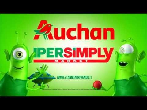 BIG BANG - sono nati i Risparmi Stellari da Auchan & Ipersimply #spotTv #comemrcial #auchan #offerte #video #alieni