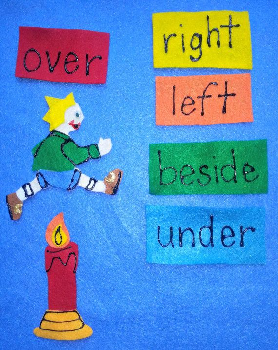 JACK Be Nimble Jack Be Quick Jack JUMP OVER the Candlestick Felt Board Flannel Board Story Set