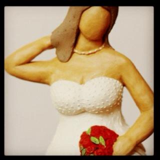 """Married"" by Lu Rosa * BelaFlor/2011: Sculptures, Married, Paints, Lu Rosa Belaflor 2011, Mondostyle"