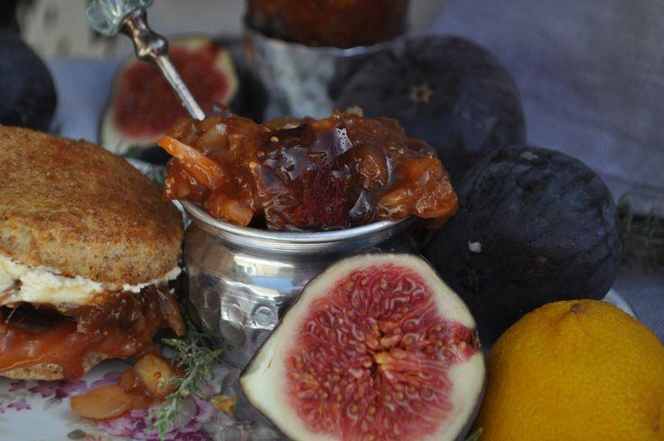 'Maltese' Fig Marmalade Jam - Maltese Food, Maltese Recipes, Maltese Cuisine. A Maltese Mouthful