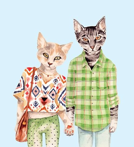 Human cats.