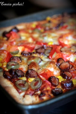 Pizza z Mini Chorizo ZM Pekpol