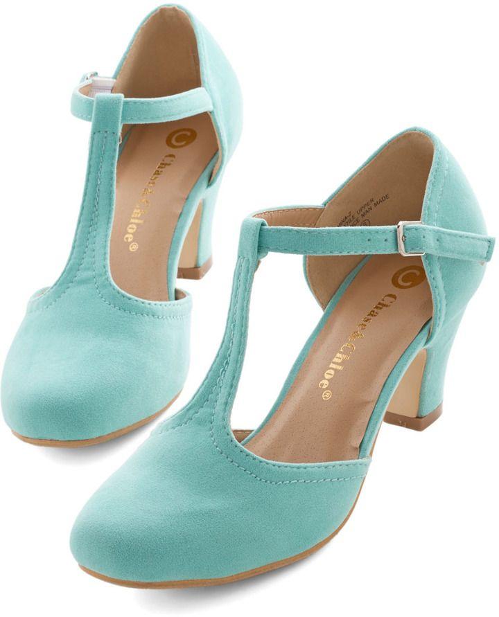 Hep in Your Step Heel in Aqua on shopstyle.com