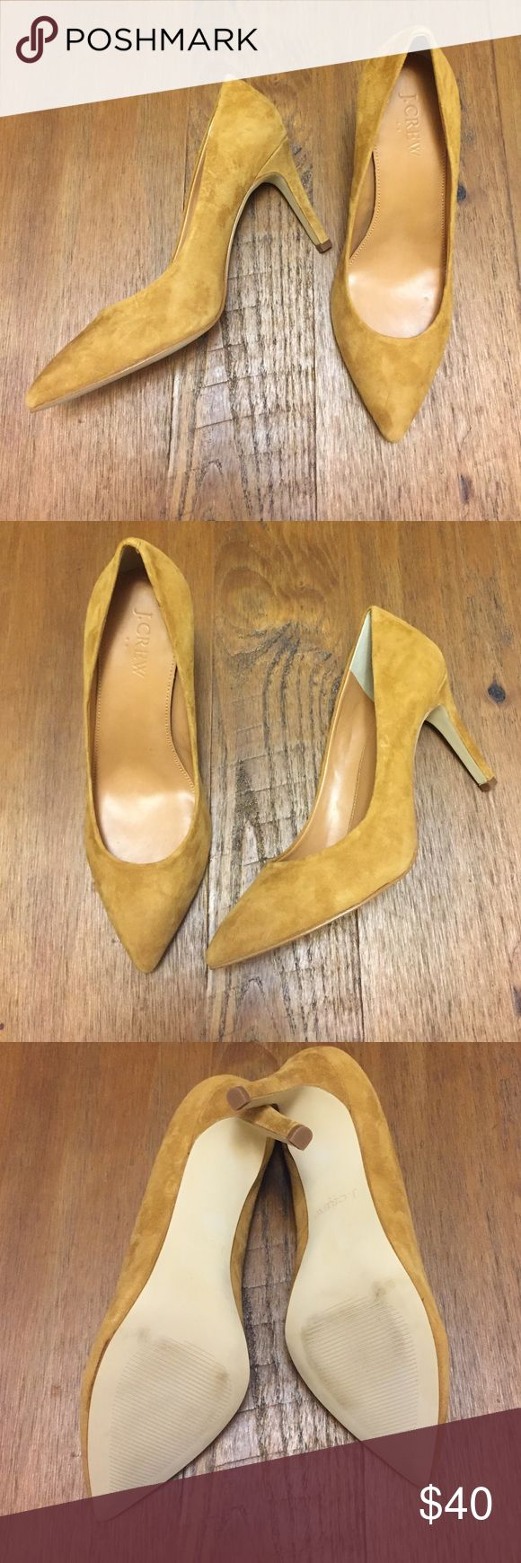 J Crew Factory Isabelle Suede pumps J Crew Outlet Isabella Pumps in suede size 6B. These are really pretty but I haven't had a chance to wear them. Looking for someone to give them a good home. 3 inch heel. Comes with original box. J. Crew Factory Shoes Heels