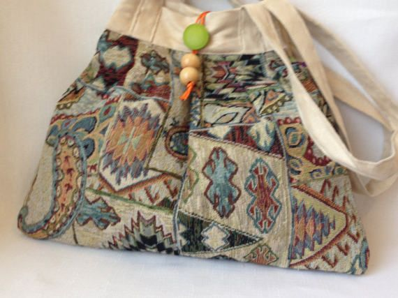 Tapestry Shoulder Bag by ByDebz on Etsy