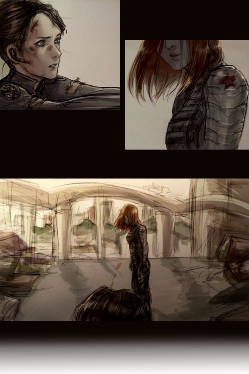 Who the hell is Natasha? fanart by ladyilena [click thru for complete comic]