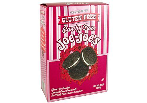 Trader Joe's Gluten Free Candy Cane Joe-Joe's  $3.99  #traderjoes #candycane #glutenfree #cookie