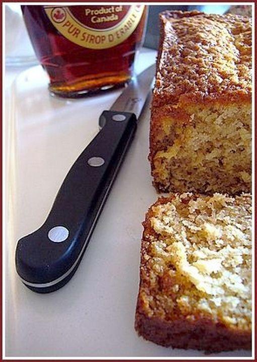 Cake aux flocons d'avoine et au sirop d'érable