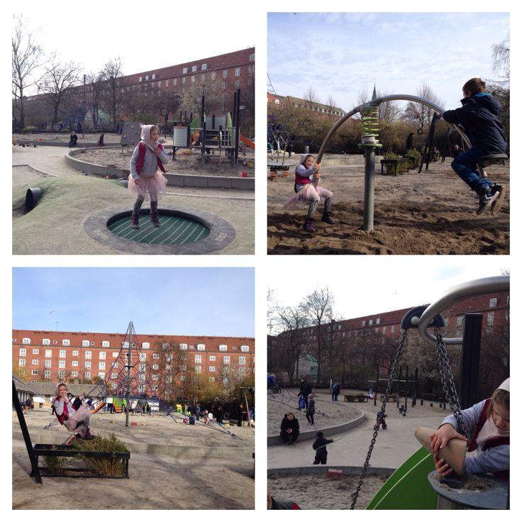 Enghave Parkens legeplads.