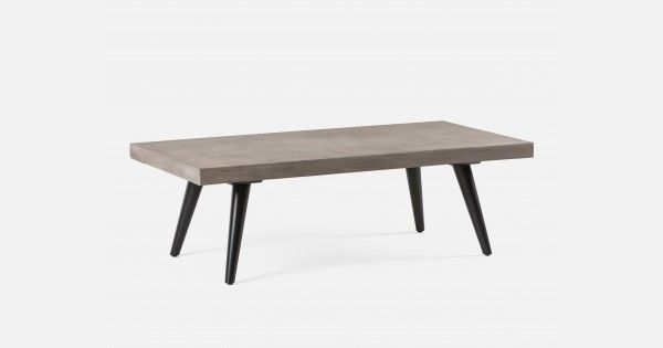 Stupendous Coffee Table With Concrete Top Structube Dynamit Table Dailytribune Chair Design For Home Dailytribuneorg