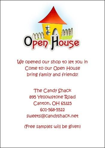 open house invitation letter